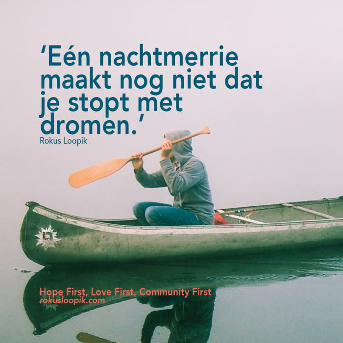 Recovery Quote 54 on: Dromen