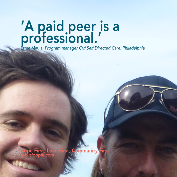 Recovery Quote 56 on: A Paid Peer