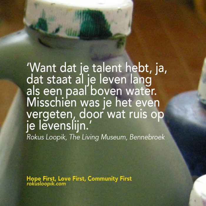 Recovery Quote 73: Je hebt talent