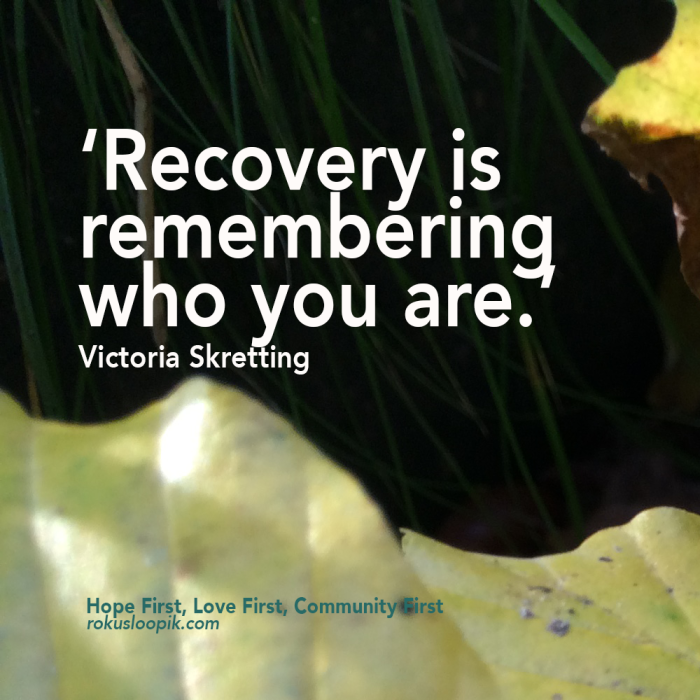 Recovery Quote 72: Recovery Is