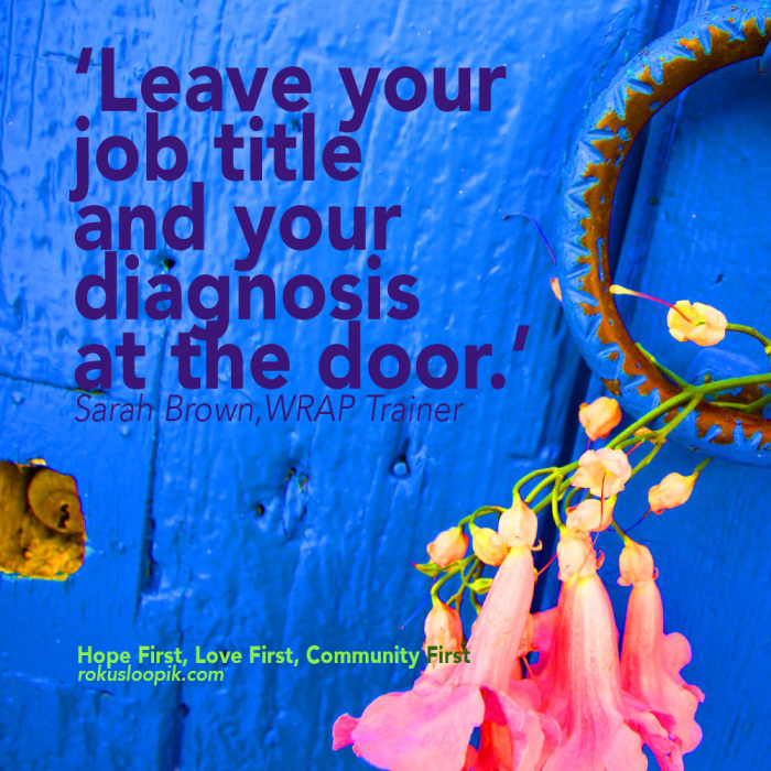 Recovery Quote 81: Leave your title and profession