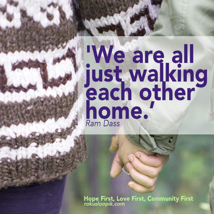 Recovery Quote 80: Walking home