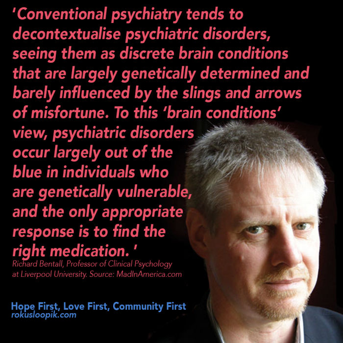 Recovery Quote 85: Conventional Psychiatry