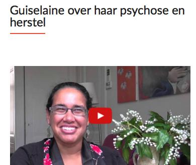 Guiselaine over hoe je succesvol van een psychose kunt herstellen