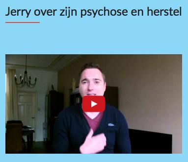 Jerry over zijn herstel na psychose