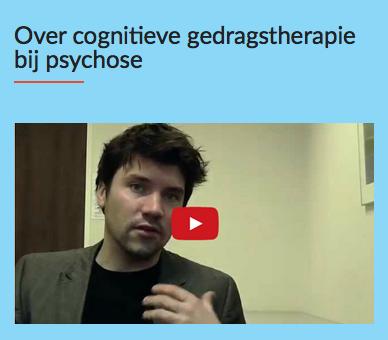 het nut van cognitieve gedragstherapie bij psychose; Psycholoog-onderzoeker David van den Berg ove