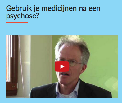 medicatie na psychose
