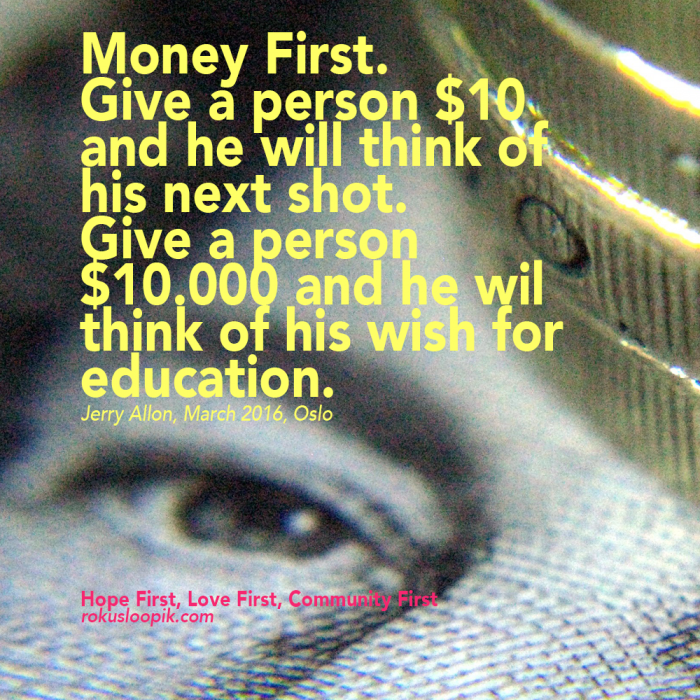 Recovery Quote 88 money first