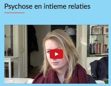 Intieme relaties na een psychose: psycholoog Jose de Jager