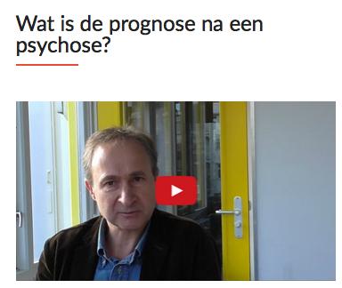 psychose en prognose