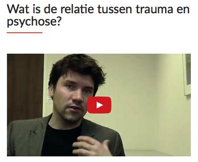 wat is de relatie tussen trauma en psychose