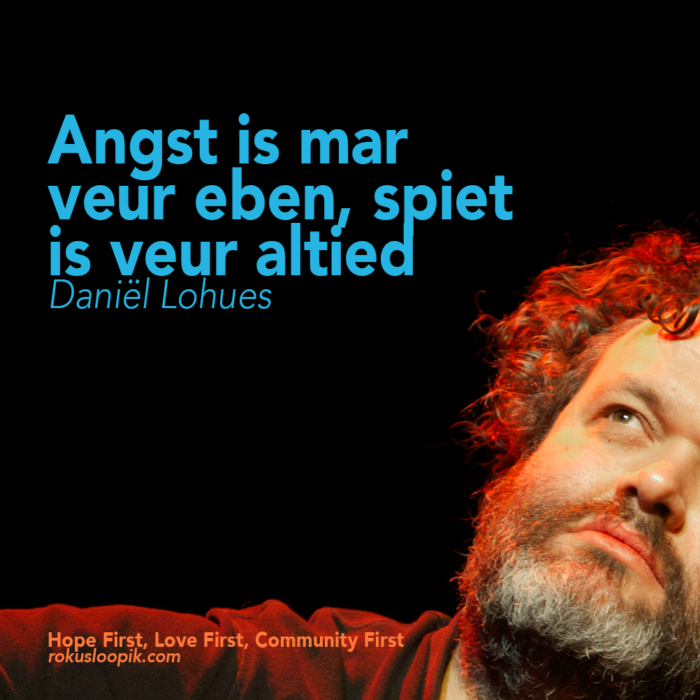 Recovery Quote 103: Angst is maar voor even