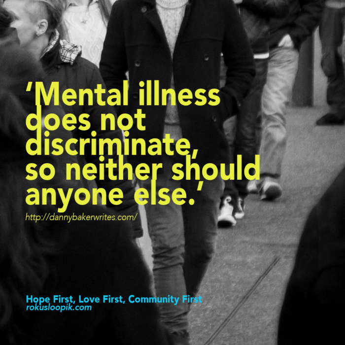 Recovery Quote 108: Mental illness does not discriminate